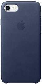 Apple Leather Back Case For Apple iPhone 7 Plus/8 Plus Midnight Blue