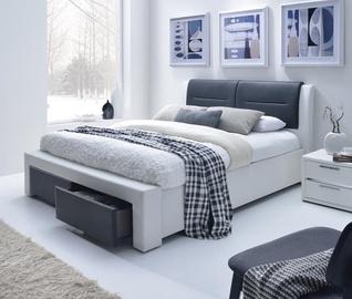Кровать Halmar Cassandra S White, 160 x 200 cm