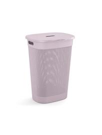 KIS Filo Laundry Hamper With Lid 55l Pink