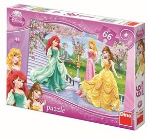 Dino Disney Princess Puzzle 66pcs