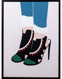 Fotoattēls Mondex Heels 2 Painting 45x60x4cm
