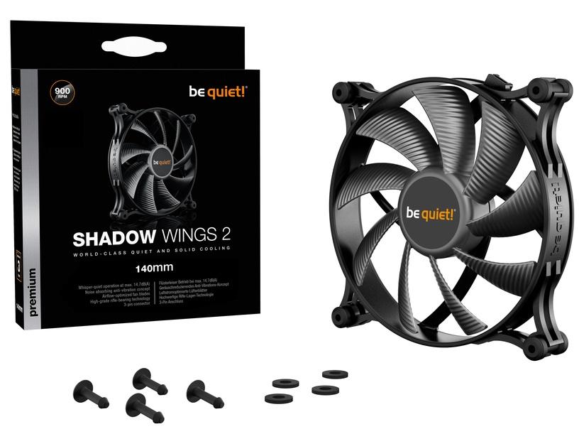 Be Quiet! Shadow Wings 2 140mm Black TL9V3W