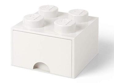 Room Copenhagen LEGO Brick Drawer 4 White