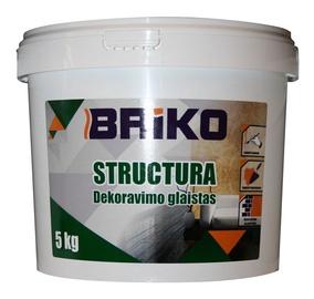 Шпаклевка Briko Structura Decorating Plaster 5kg White