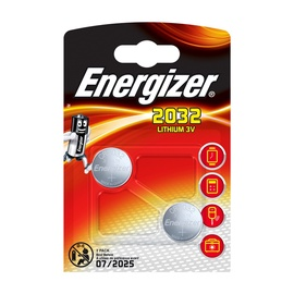 Energizer CR2032 Lithium 3V Battery 2pcs