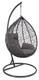Садовое кресло подвесной Home4you Droplet 28018, серый