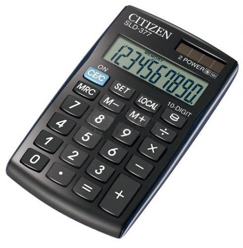 Citizen Calculator SLD-377 Euro
