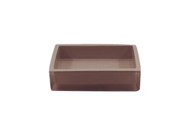 Domoletti Soap Dish RE0728EA-SD Dark Brown