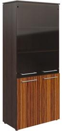 Skyland Morris MHC 85.2 Office Wardrobe 85.4x195.6x42.3cm Wenge Magic/Macassar
