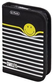 Herlitz Pencil Case Smiley World Black Stripes