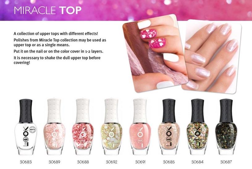 nailLOOK Miracle Top Polish 8.5ml 30685