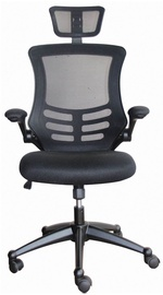 Home4you Office Chair Ragusa Black