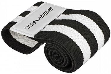 SportVida Fitness & Crossfit Rubber Hip Band 40x7.6cm Black