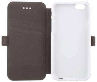 Telone Super Slim Shine Book Case Microsoft Lumia 435 White