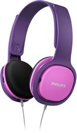 Austiņas Philips SHK2000PK/00 Purple/Pink