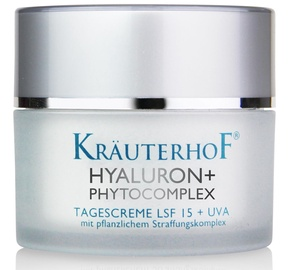 Sejas krēms Krauterhof Hyaluron Phytocomplex SPF15 Day Cream, 50 ml