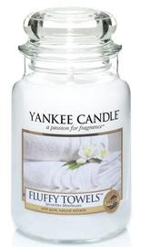 Ароматическая свеча Yankee Candle Classic Large Jar Fluffy Towels, 623 г