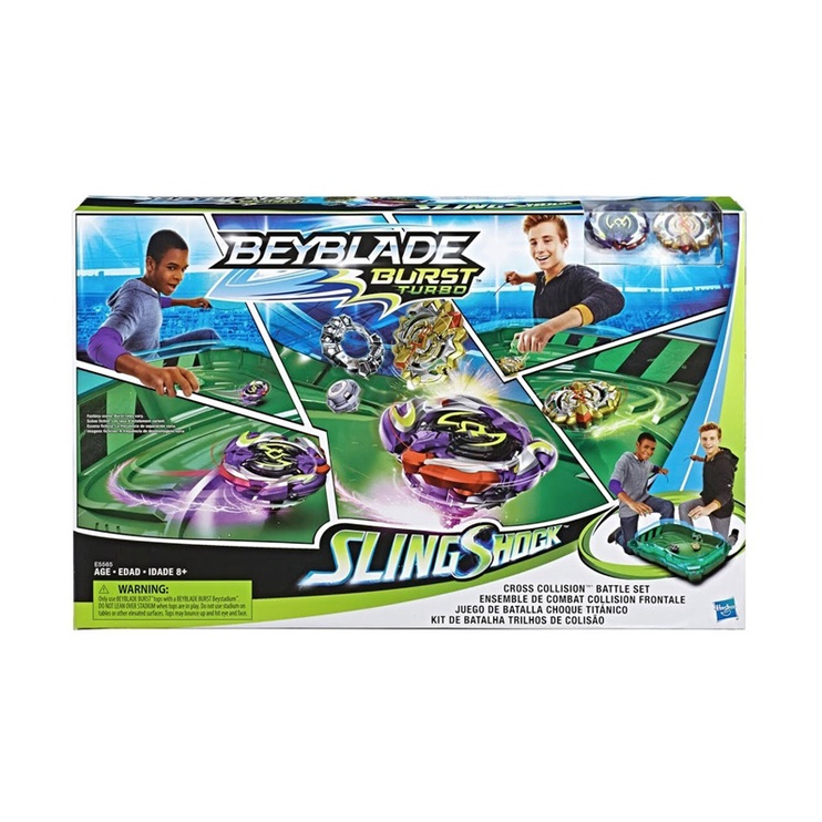 Hasbro Beyblade Burst Turbo SlingShock Set E5565