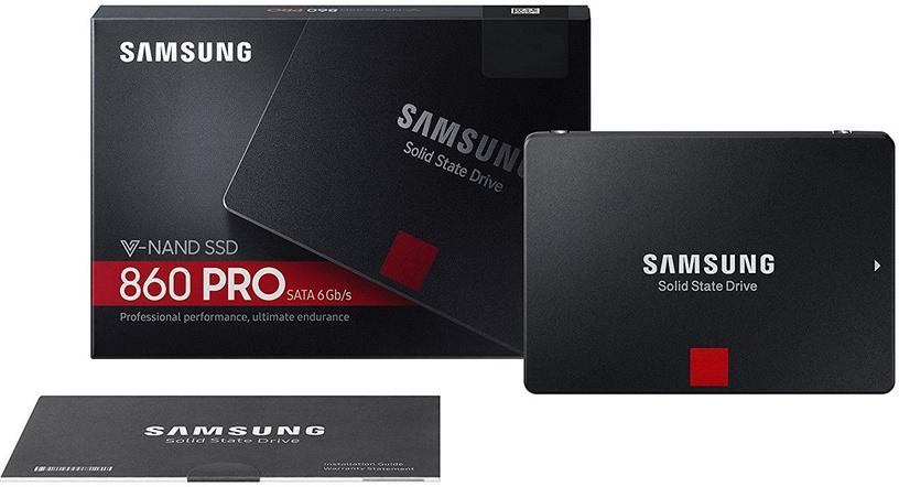 "Samsung 860 Pro 4TB 2.5"" SATAIII MZ-76P4T0B/EU"