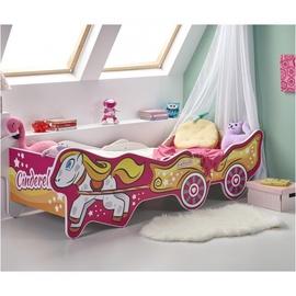 Bērnu gulta Halmar Cinderella Multicolored, 165x79 cm