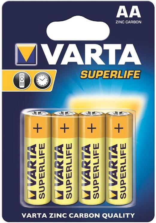 Varta Superlife Batteries 4x AA