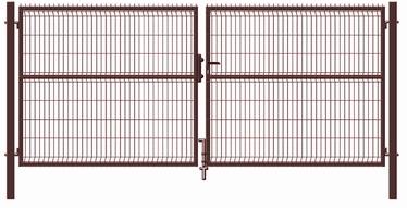 Vārti Garden Center RAL8017 Gate 4000x1730mm Brown