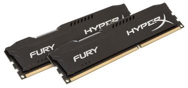 Operatīvā atmiņa (RAM) Kingston HyperX Fury Black Series HX318C10FBK2/16 DDR3 (RAM) 16 GB CL10 1866 MHz