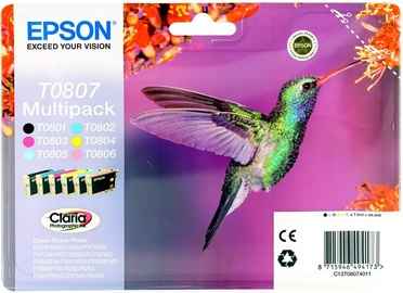 Epson T0807 Multipack 6-Colors Photographic