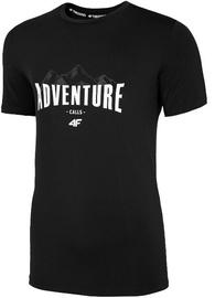4F Mens Functional T-Shirt H4L20-TSMF060-20S Black L