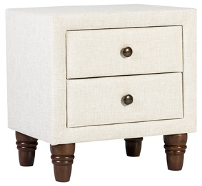 Naktsgaldiņš Home4you Emilia 28801 Light Beige
