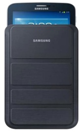 "Samsung Universal 7"" Galaxy Tab Pouch Case w/Stand Black"