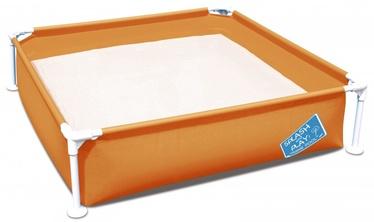 Бассейн Bestway My First Frame Pool 56217, синий/зеленый/oранжевый, 365 л