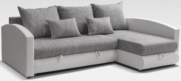 Stūra dīvāns Platan Nina 04 Grey, 235 x 172 x 95 cm