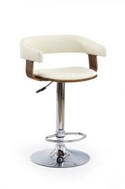 Bāra krēsls Halmar H12 Walnut/Cream