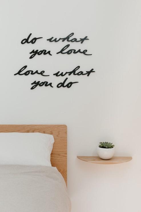 Umbra Mantra Wall Decor Love Black 8pcs