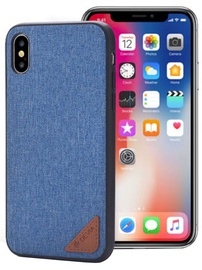 Devia Acme Back Case For Apple iPhone X Blue