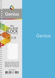 Тетрадь Genius, 80 листов