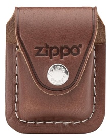 Zippo Leather Lighter Pouch with Clip Brown