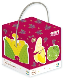 Puzle Dodo 2 3 4 Elements Fruits And Vegetables 300155, 18 gab.