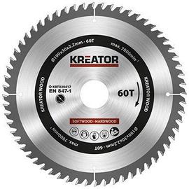 Kreator Sawblade 190x30x2.2mm 60T