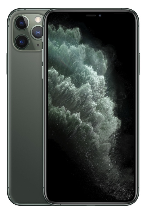 Mobilais telefons Apple iPhone 11 Pro Max Midnight Green, 64 GB