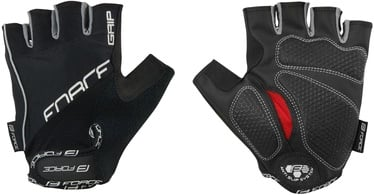 Force Grip Gel Short Gloves Black M