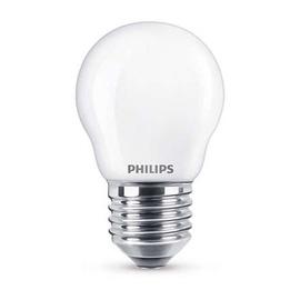 SP. LED P45 4,3W E27 827 FR GL 470LM (PHILIPS)