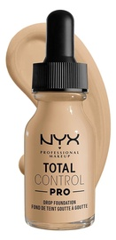 Tonizējošais krēms NYX Total Control Pro Nude, 13 ml