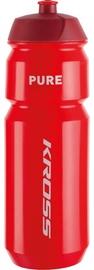Kross Pure 750ml Water Bottle Red