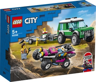 Constructor LEGO City Race Buggy Transporter 60288