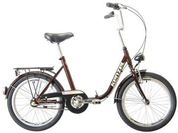 """Велосипед Kenzel Camping 2021, коричневый, 16"""", 20″"""