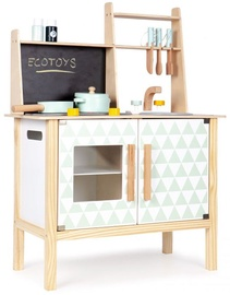 EcoToys Wooden Kitchen With Board