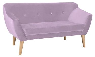 Dīvāns Signal Meble Bergen 2 Velvet Pink, 139 x 54 x 76 cm