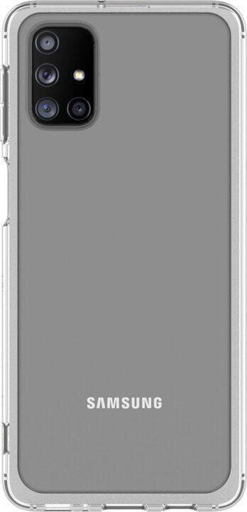 Samsung Back Case For Samsung Galaxy M31s Transparent